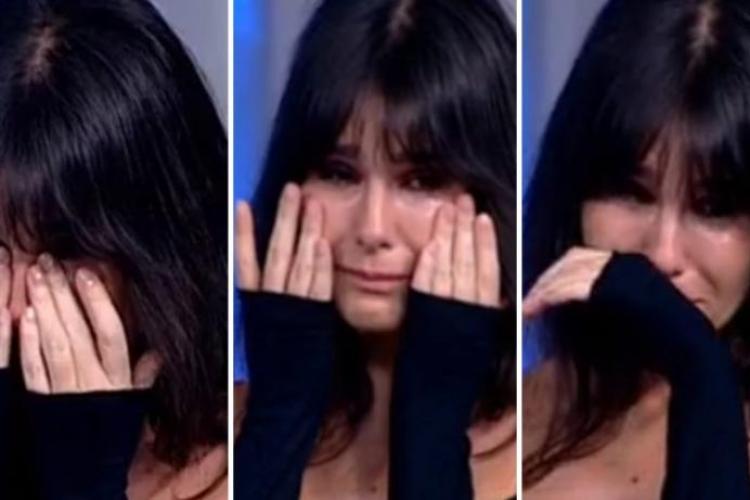 """Dana Budeanu, în lacrimi la TV: """"Este sfârşitul lumii, aşa arată sfârşitul lumii, ca în filmarea asta. E un rahat de virus"""""""