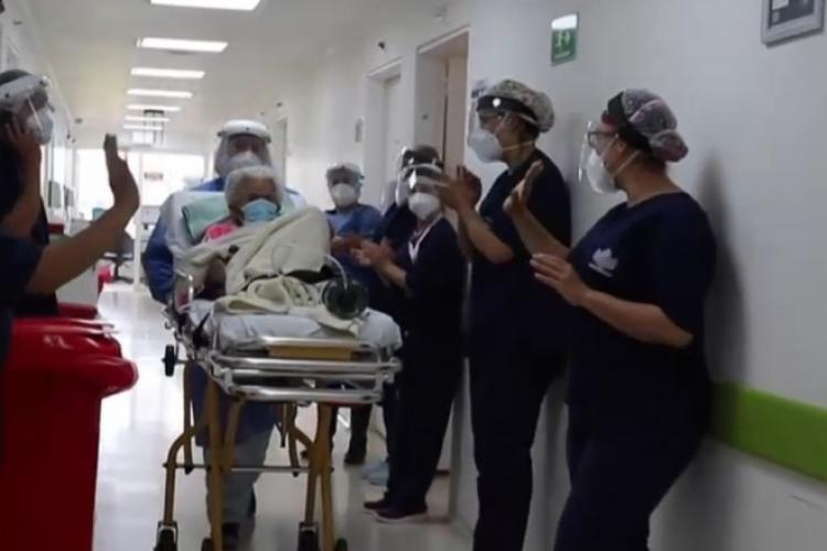 Caz incredibil. O femeie de 104 ani a învins COVID de DOUĂ ori - FOTO