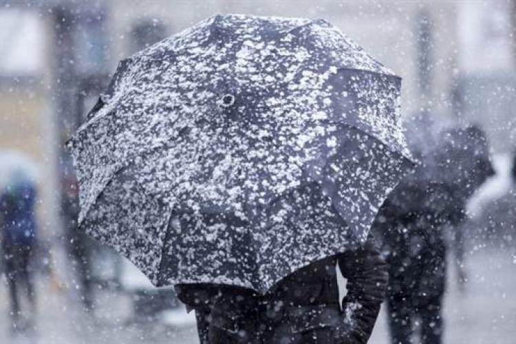 METEO. Cum va fi vremea până în 1 mai? În Cluj va fi lapoviță și ninsoare