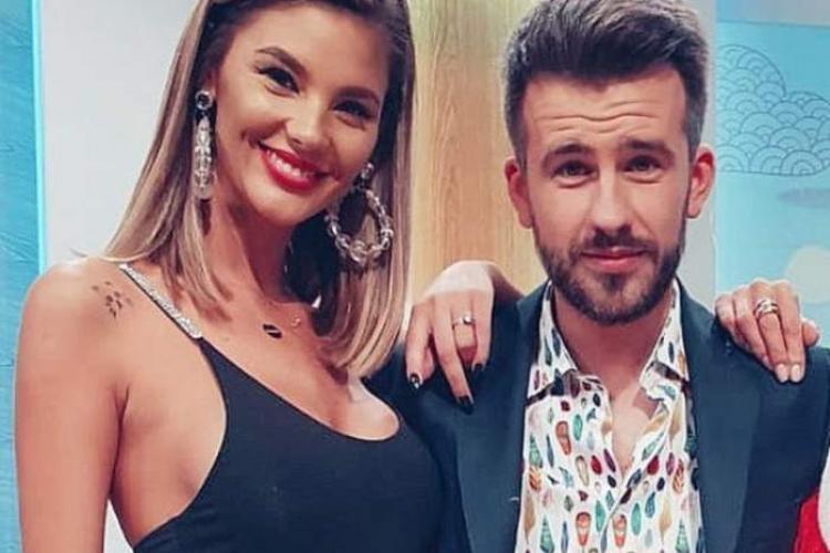 """Florin Ristei a jignit-o pe colega de la """"Neața"""", frumoasa Ramona Olaru"""