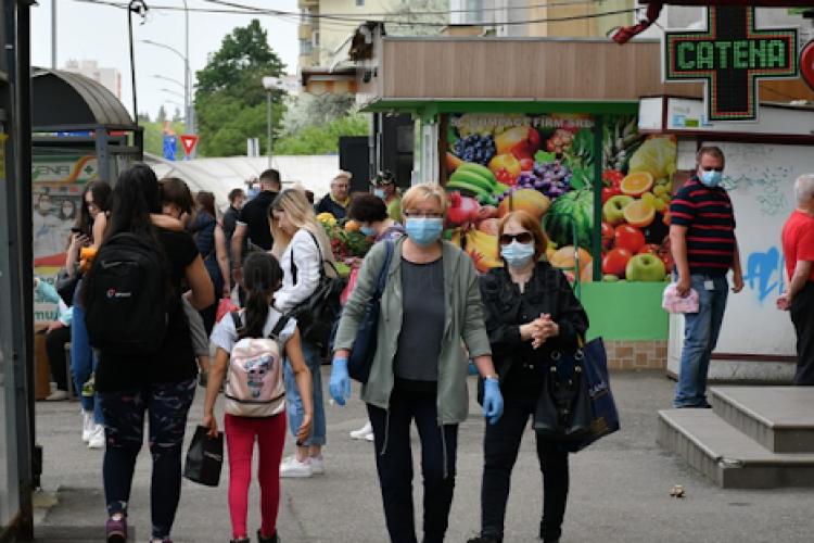 Situația COVID Cluj: aproape 500 de cazuri noi în ultimele 24 de ore