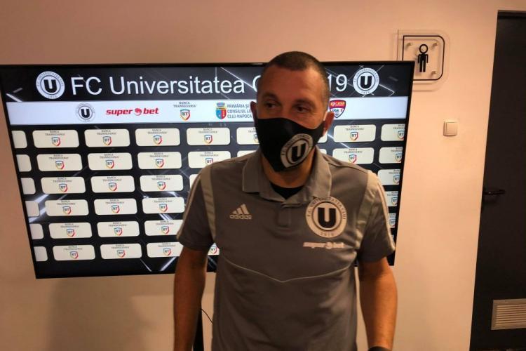 Antrenorul U Cluj, Costel Enache, vrea echipă secundă la Universitatea