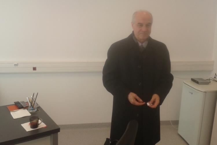 Constantin Răduță, noul președinte al U Cluj