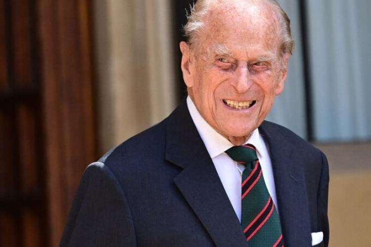 A murit prinţul Philip, soţul reginei Elisabeta a II-a
