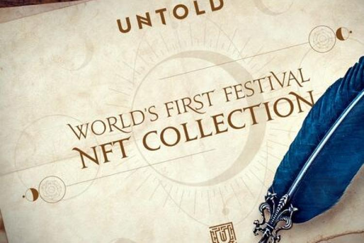 Untold lansează în premieră mondială un NFT, un token virtuala care va crește în valoare și poate fi vândut