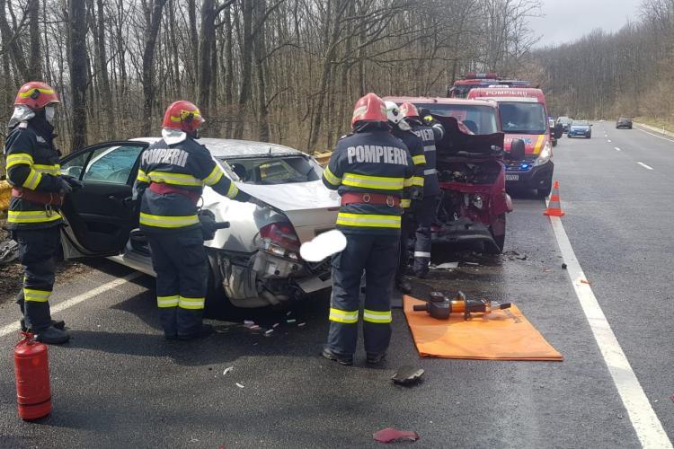 Accident pe Meseș, în Sălaj, cu trei victime