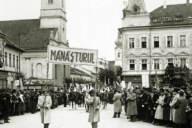 Vizita Regelui Mihai la Cluj - FOTO rare. Îl așteptau și liderii sovietici