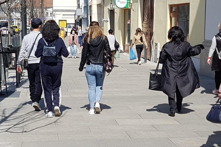 Clujenii respectă regulile! Rata de infectare în Cluj-Napoca a scăzut la 6.03 la mie