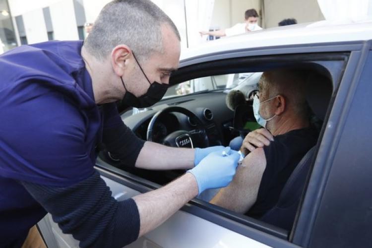 Clujul va avea un centru de vaccinare drive through. Unde va fi amplasat