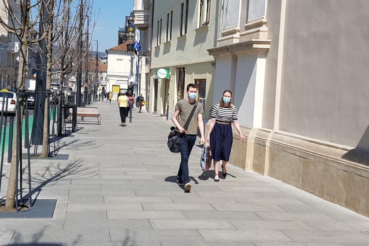 Rata de infectare în Cluj SCADE în continuare! La ce incidența au ajuns localitățile clujene?