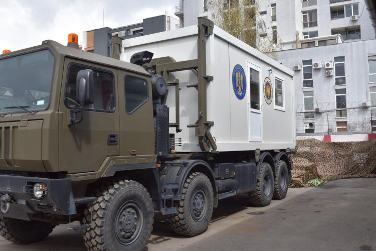 Armata trimite 20 de centre mobile de vaccinare în localități izolate sau greu accesibile. Spitalul Militar din Cluj pe listă