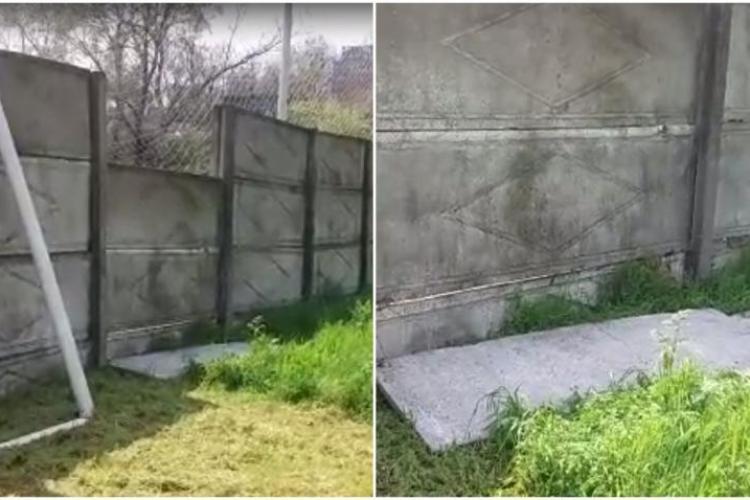 Un copil de 11 ani a murit, după ce o placă de beton din gardul unui stadion i-a căzut în cap