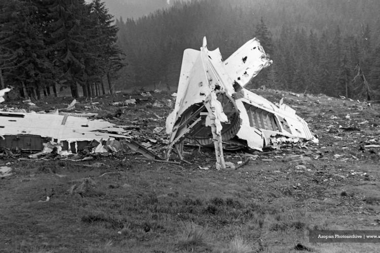 Avion prăbușit în 1970 la Vlădeasa. Accidentul a fost ținut secret! Fotografiile au fost realizate la un an de la accident