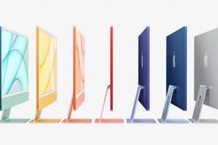 iMac 2021. Cum arată noul model Apple și cât costă
