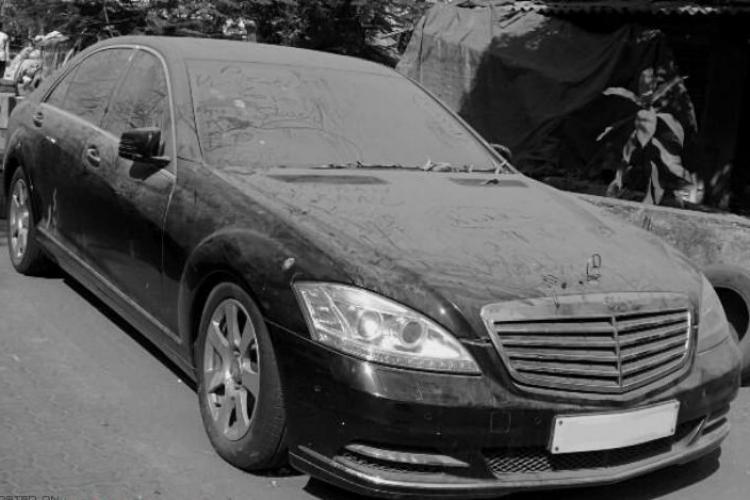 Polițiștii clujeni trebuie să repare mașina unui proxenet. Au sechestrat autoturismul și s-a degradat în parcare