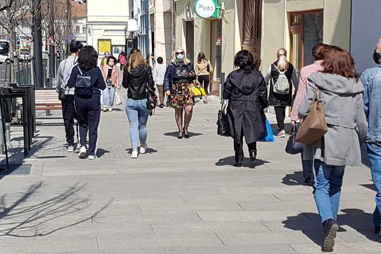 Vești bune pentru clujeni! Rata de infectare în Cluj-Napoca a SCĂZUT sub 5 la mie!