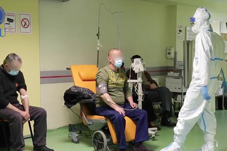 COVID Cluj: Numărul pacienților de la ATI este în creștere, din nou