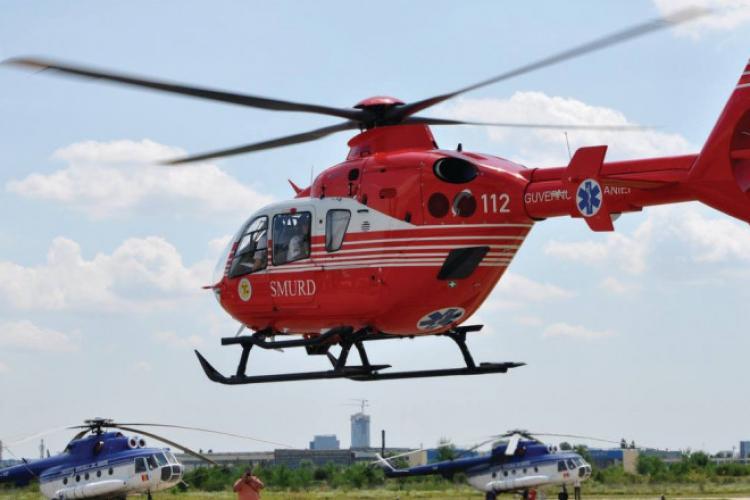 Un adolescent de 17 ani a murit lângă județul Cluj. Elicopterul SMURD ar fi fost trimis să-l preia dintr-o localitate greșită