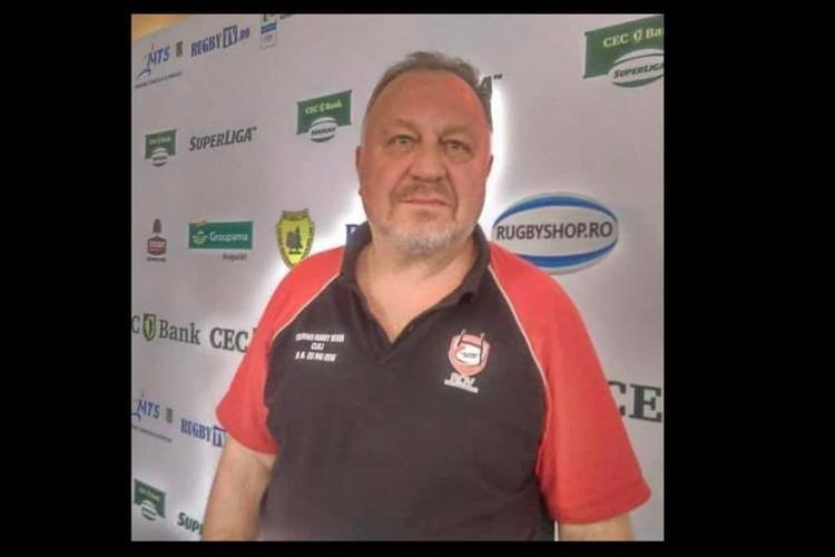 A murit antrenorul de rugby clujean Mircea Nistor