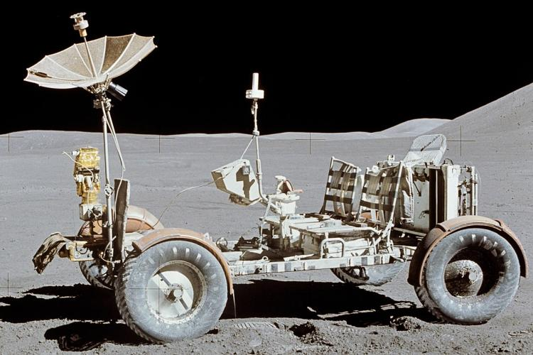 O copie a Roverului Lunar folosit de NASA poate fi văzut la Cluj-Napoca - FOTO