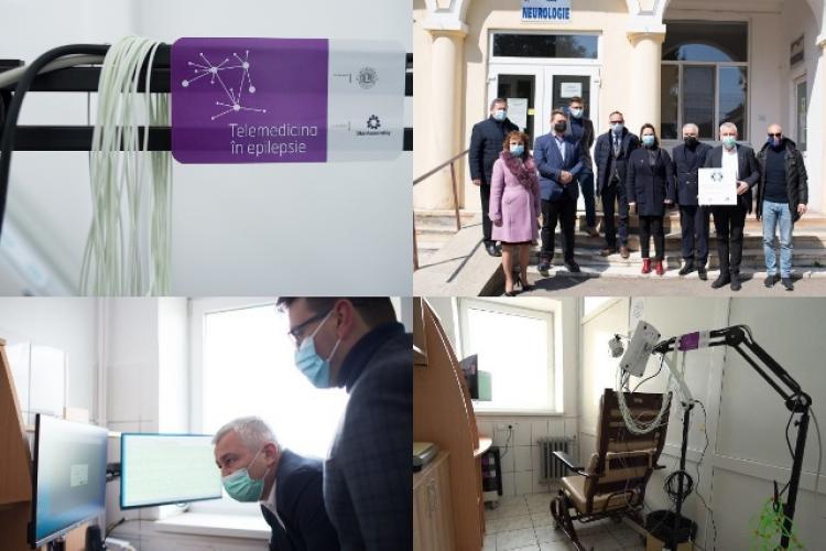 Cabinet pentru diagnosticarea epilepsiei, deschis la spitalul din Sebeș. Examinări cu aparat videoEEG de mare performanță - FOTO