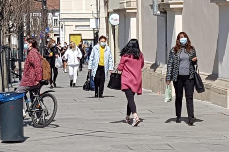 Cluj-Napoca SCAPĂ AZI de restricțiile parțiale din weekend! Incidența sub 3.5 la mie