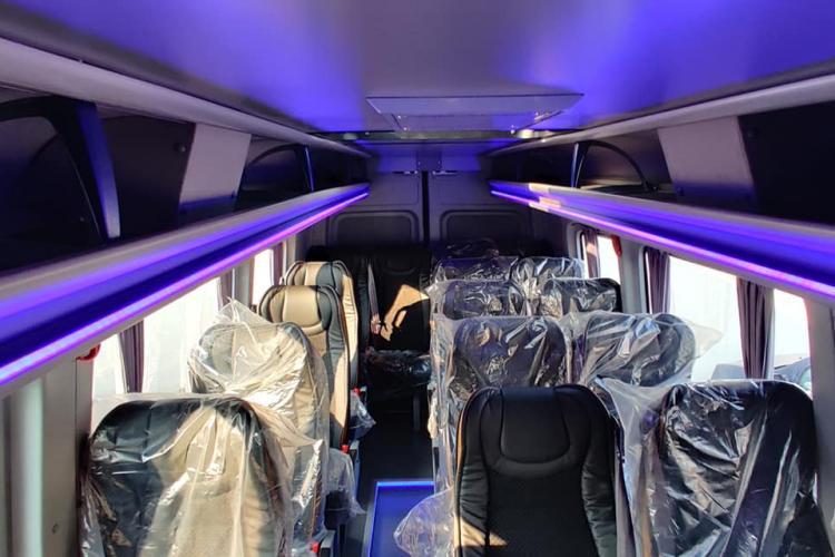 Transport școlar și în Baciu. Primăria a cumpărat un microbuz nou - FOTO
