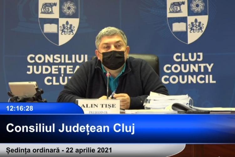 """Consilierii USR, """"puși la pământ"""" de alți membri ai Consiliului Județean Cluj: """"Ei știu că acel lucru nu e fezabil, dar dă bine la public"""""""