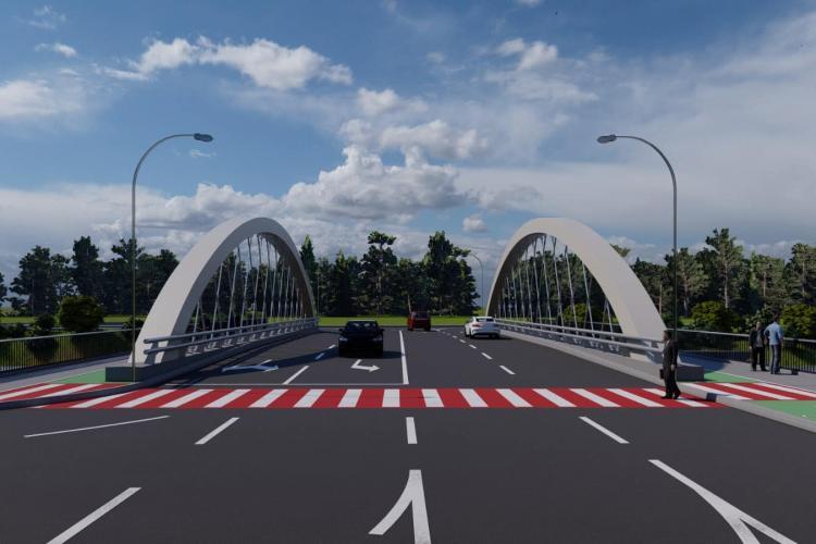 Cum arată podul lui Boc, care leagă Oașului de Răsăritului. E criticat degeaba? - FOTO
