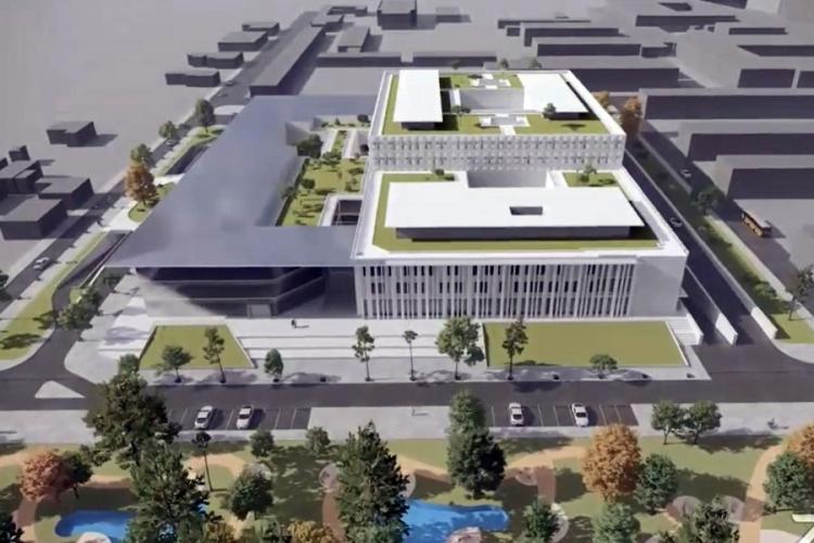 Oradea ridică un spital modern de 128 de milioane de euro