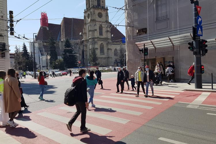 Cluj: Câte cazuri de COVID-19 au fost în total de la începutul pandemiei
