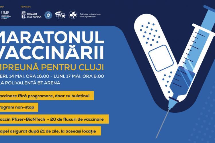 """Vineri UMF """"Iuliu Hațieganu"""" va da startul maratonului vaccinării de la Cluj-Napoca - VIDEO"""