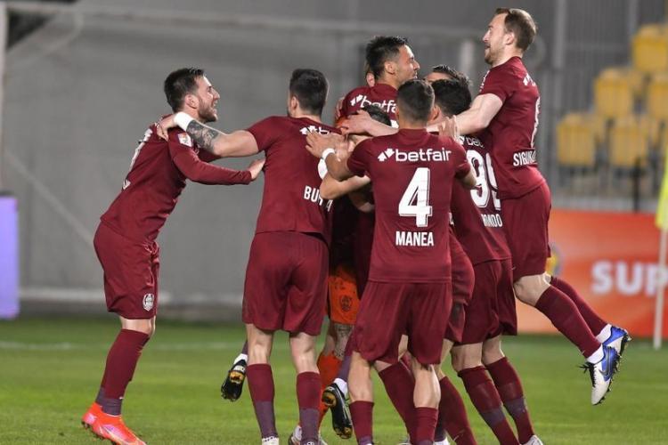 CFR Cluj este noua campioană a României! Clujenii au câștigat din nou TITLUL