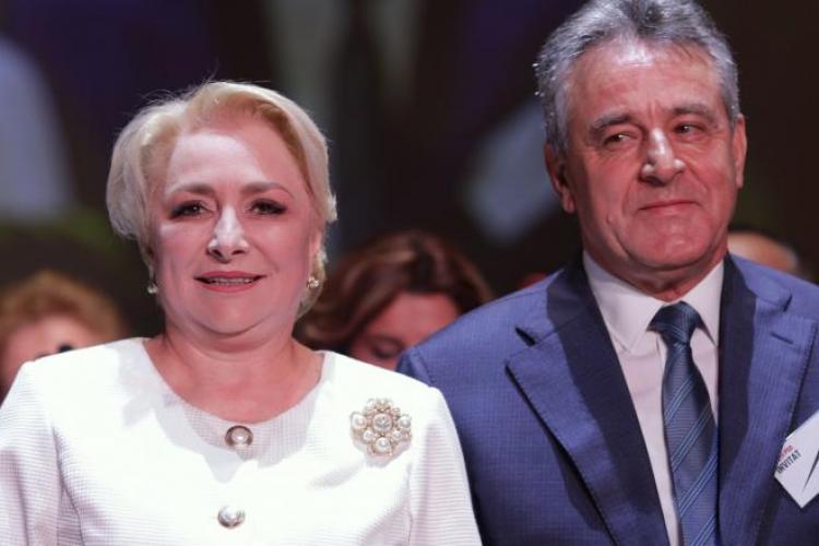 Soțul Vioricăi Dăncilă a fost angajat consilier la Transgaz, companie controlată de statul român prin Secretariatul General al Guvernului