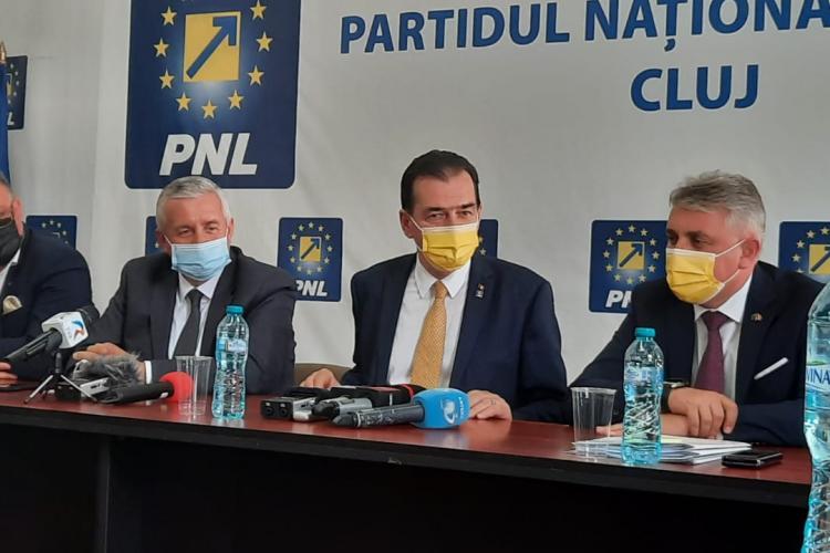 """Orban, la Cluj: """"Metroul este cel mai spectaculos proiect și este inclusă o finanțare importantă în PNRR pentru proiectul de metrou la Cluj"""""""
