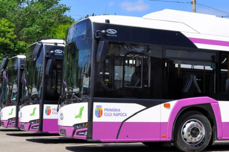 CTP Cluj suplimentează numărul mijloacelor de transport în comun, o dată cu reînceperea școlii
