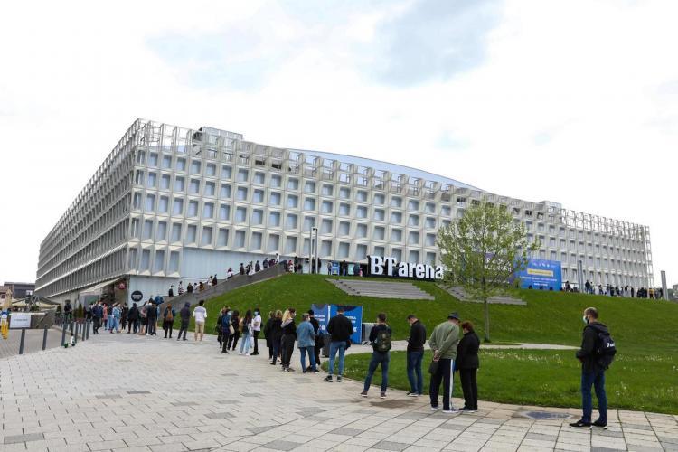 Câte persoane s-au vaccinat la maratonul de la Sala Polivalentă din Cluj-Napoca