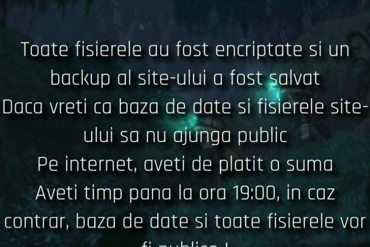 Asalt al hackerilor asupra instituțiilor clujene! Hackerii Meowless au atacat și site-ul Universității Tehnice Cluj - EXCLUSIV