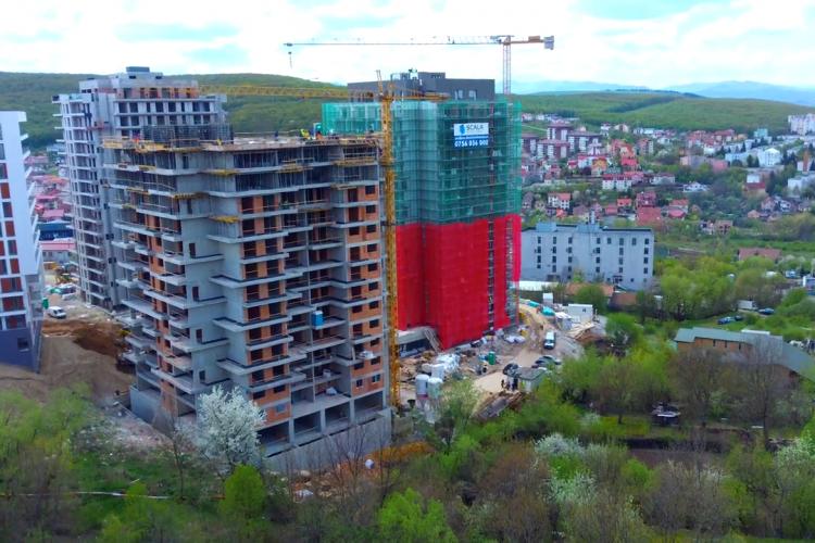 În cât timp apare cartierul Frunzișului? Filmare aeriană cu întreaga zonă și blocurile care apar acolo - VIDEO