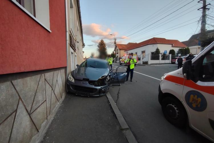 Droguri găsite în mașina care a produs accidentul pe Septimiu Albini - FOTO