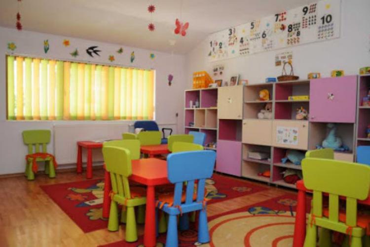 O grădiniță din Cluj-Napoca trece în SCENARIUL 2