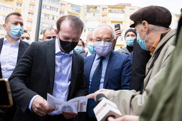 Florin Cîțu a anunțat că nu vom scăpa mai repede de mască în aer liber