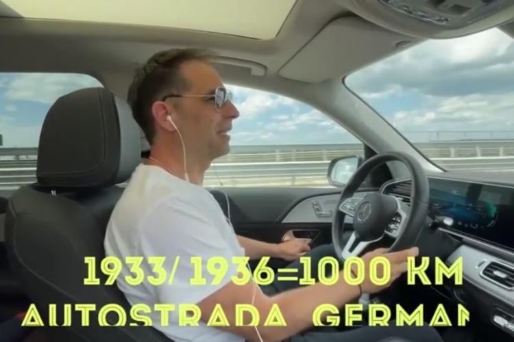 Dan Negru: 54 km de autostradă a construit România în 2020. Germania făcea 1000 km în anii 30 - VIDEO
