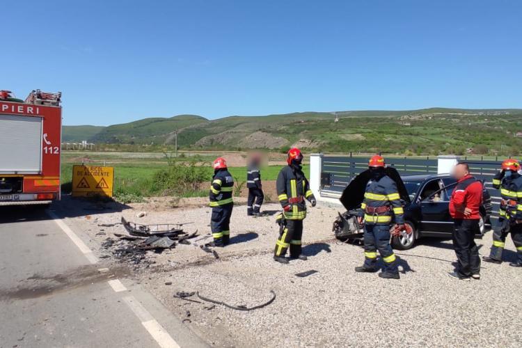 Accident rutier, la ieșire din Cornești - FOTO