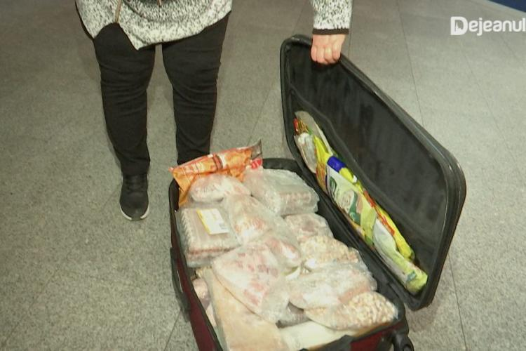 Cu mielul în bagaj pe aeroportul din Cluj - FOTO