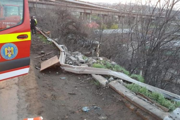 Cluj - Șofer spulberat, după ce s-au dat jos din mașină fără să se asigure