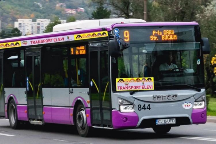 Transport pentru elevii din Colonia Pata Rât, Dealul Fânațelor, Valea Fânațelor la școlile din Cluj-Napoca