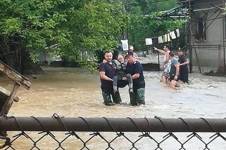 COD ROȘU hidrologic pentru județul Cluj și Bihor. Vedeți ce zone sunt afectate