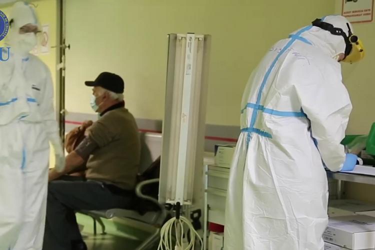 COVID: Scade numărul de cazuri de COVID-19 raportate la nivel național