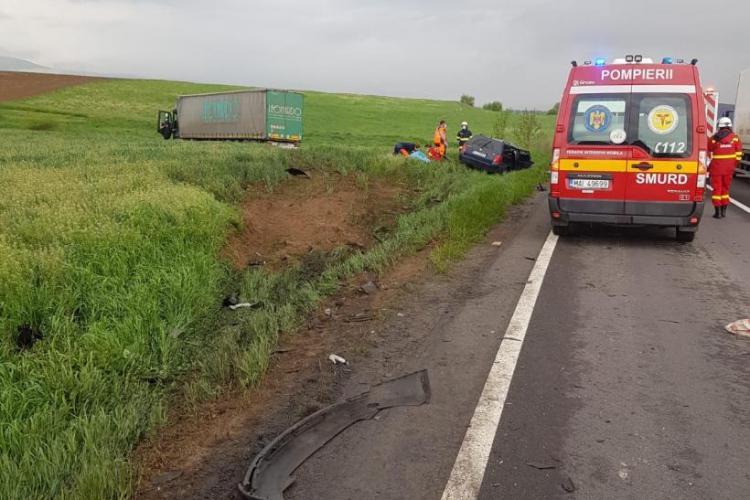 Patru persoane și-au pierdut viața, într-un accident rutier, vineri dimineața - FOTO